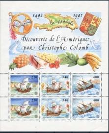 Monaco, michel blok 55, xx