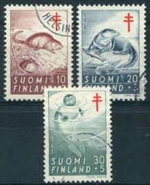 Finland, michel 536/38, o