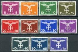 Noorwegen, michel D 44/54 , x