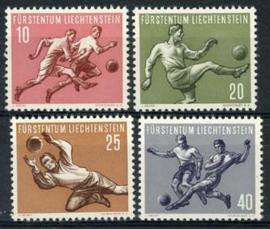 Liechtenstein, michel 322/25, xx