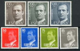 Spanje, michel 2513/19, xx