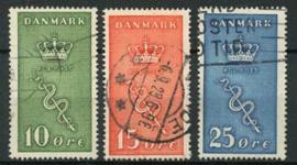 Denemarken, michel 177/79,o