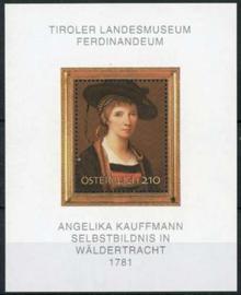 Oostenrijk, michel blok 39, xx