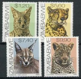 Zimbabwe, michel 635/38, xx