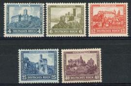 Duitse Rijk, michel 474/78, xx