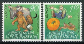 Liechtenstein, michel 1145/46, xx