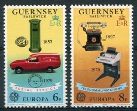Guernsey, michel 189/90, xx