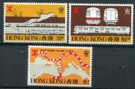 Hong Kong, michel 357/59, xx