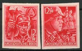 Duitse Rijk, michel 909/10 B, xx