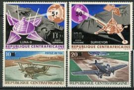 Centrafricain, michel 163/66 , xx