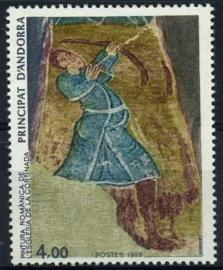 Andorra Fr., michel 346, xx