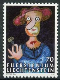Liechtenstein, michel 1158, xx