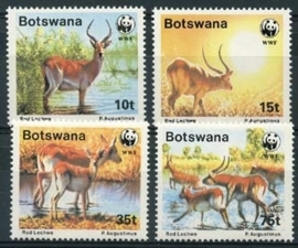 Botswana , michel 431/34 , xx
