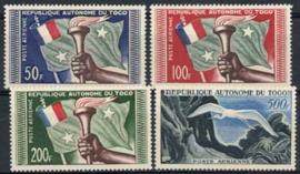 Togo, michel 241/44, xx