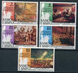 Samoa, michel 328/32, xx