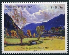 Andorra Fr., michel 636, xx