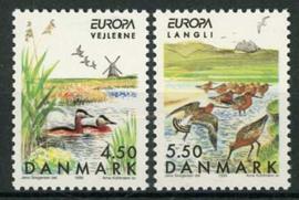 Denemarken, michel 1211/12, xx