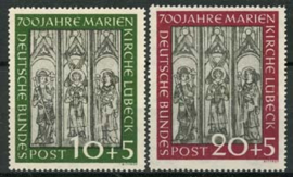 Bundespost, michel 139/40, xx