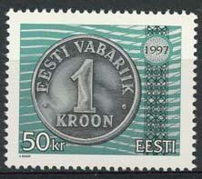 Estland, michel 308, xx