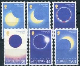 Alderney, michel 131/36, xx
