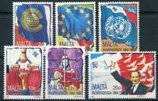 Malta, michel 809/14, xx