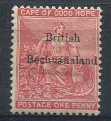 Bechuanaland, michel 3, x