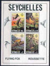 Seychelles, michel blok 18, xx