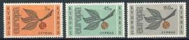 Cyprus, michel 258/60, x