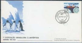 Brazilie, FDC michel 1952, 1983