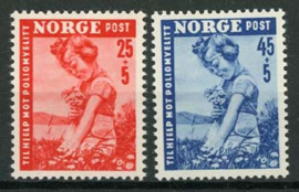 Noorwegen, michel 351/52, xx