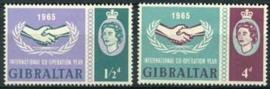 Gibraltar , michel 171/72 , xx