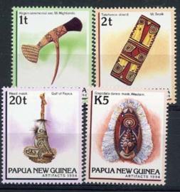 Papua N.Guinea, michel 725/28, xx