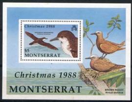 Montserrat, michel blok 50, xx