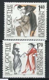 Liechtenstein, michel 1215/16, xx