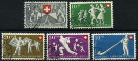 Zwitserland, michel 555/59,o