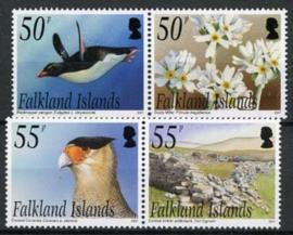 Falkland, michel 1015/18, xx