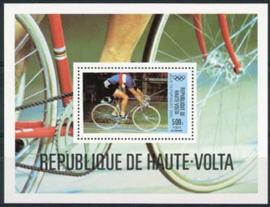 Haute Volta, michel blok 55, xx