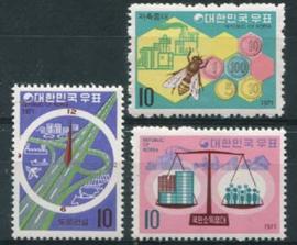 Korea Z., michel 757/59, xx