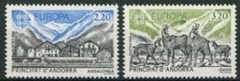 Andorra Fr., michel 369/70, xx