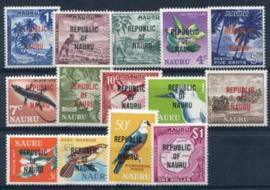 Nauru, michel 69/82, xx