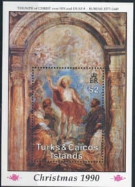 Turks, michel blok 95, xx