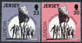 Jersey, michel 693/94, xx