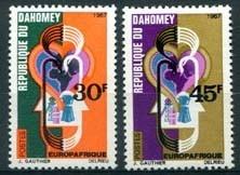 Dahomey, michel 319/20, xx