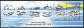 Denemarken, michel blok 19, xx