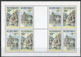 Slowakije, michel kb 359/60, xx
