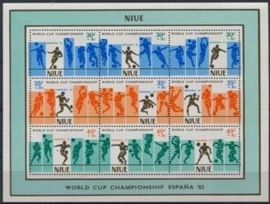 Niue, michel blok 49, xx