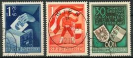 Oostenrijk, michel 952/54, o