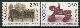 Noorwegen, michel 971/72, xx