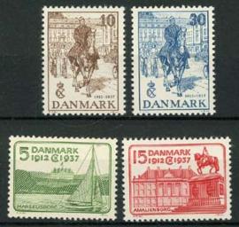 Denemarken, michel 237/40, xx