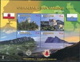 Gibraltar , michel blok 93 , xx